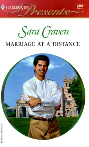 Marriage at a Distance (2000) by Sara Craven