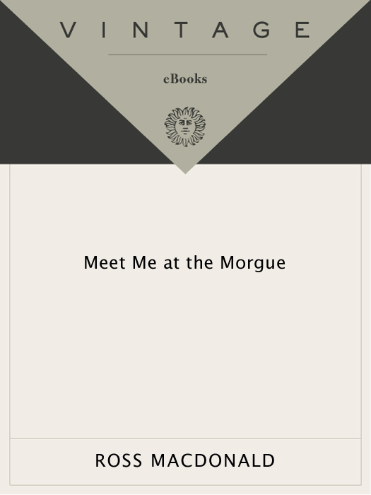 Meet Me at the Morgue (2010) by Ross Macdonald