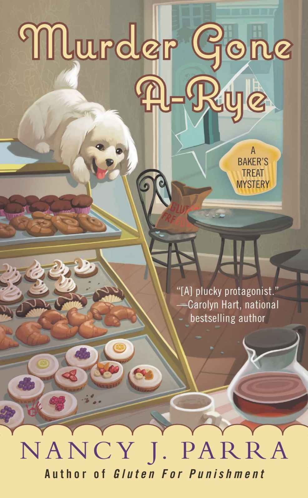 Murder Gone A-Rye (A Baker's Treat Mystery) by Nancy J. Parra