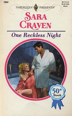 One Reckless Night by Sara Craven